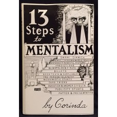 13 Steps to Mentalism - Book by Corinda