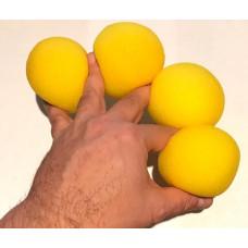 """Sponge Ball - 3"""" - Yellow"""