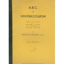 A.B.C. of Ventriloquism - Book by Douglas Craggs