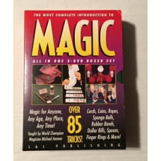 Introduction to Magic Three DVD Set - Michael Ammar -- DVD