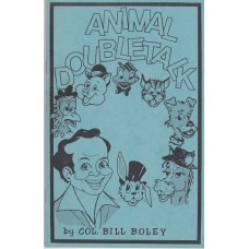 Animal Doubletalk - Book by Col. Bill Boley
