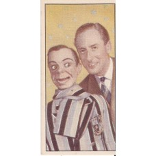 Archie Andrews and Peter Brough Original Tea Card from Barber Tea
