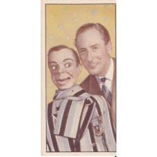 Archie Andrews and Peter Brough Original Tea Card from Barber Tea