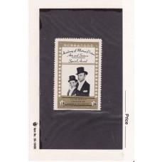 Edgar Bergen and Charlie McCarthy Hollywood Star Stamp circa 1947