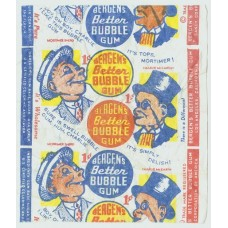 Bergen's Better Bubblegum Wrapper
