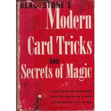 Blackstone's Modern Card Tricks and Secrets of Magic - Book by Harry Blackstone