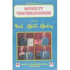 Novelty Ventriloquism DVD starring Col. Bill Boley