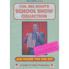 Colonel Bill Boley's School Show Collection DVD Set starring Col. Bill Boley