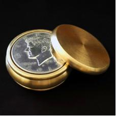 Buddha Okito Slot Coin Box - Half Dollar Size