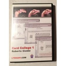 Card  College Volume One e-Book - Roberto Giobbi -- DVD