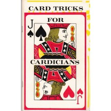 Card Tricks for Cardicians book - various