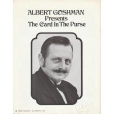 Albert Goshman - The Card in the Purse Manuscript