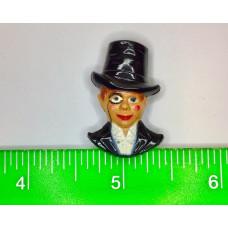 Charlie McCarthy Bakelite Pin - Large
