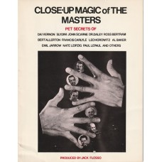 Close-Up Magic of the Masters - Book by Jack Flosso
