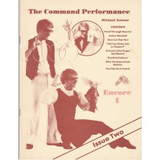Command Performance - Encore I - Book by Michael Ammar