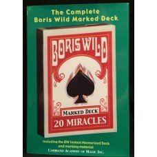 The Complete Boris Wild Marked Deck - Book