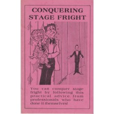 Conquering Stage Fright - Book edited by Clinton Detweiler