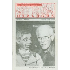 Dialogue Magazine Volume 5 Number 3 - Paul Winchell Cover