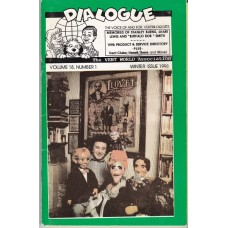 Dialogue Magazine Volume 18 Number 1 - Stanley Burns Cover