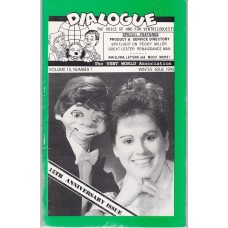 Dialogue Magazine Volume 15 Number 1 - Peggy Miller Cover