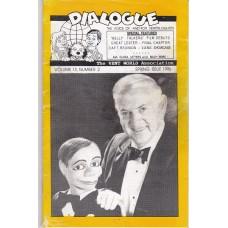 Dialogue Magazine Volume 15 Number 2 - Bill Gorton Cover