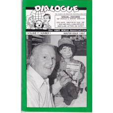 Dialogue Magazine Volume 17 Number 1 - Dick White Cover