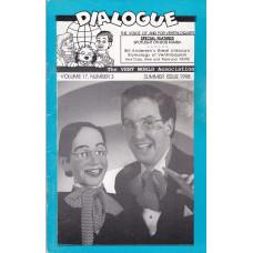 Dialogue Magazine Volume 17 Number 3 - Bob Rumba Cover