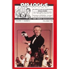 Dialogue Magazine Volume 17 Number 4 - Valentine Vox Cover