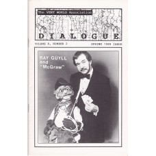 Dialogue Magazine Volume 8 Number 2 - Ray Guyll Cover