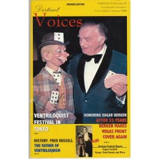 Distant Voices Magazine Volume 1 Number 1