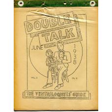 Double Talk Magazine - Volume One Number Eight