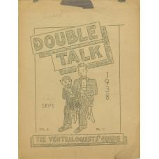 Double Talk Magazine - Volume One Number Eleven