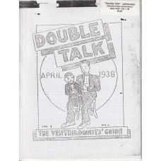 Double Talk Magazine - Volume One Number Six