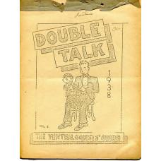 Double Talk Magazine - Volume One Number Twelve