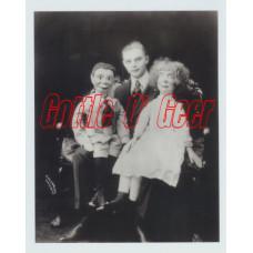 Photo - Edgar Bergen, Charlie McCarthy and Laura