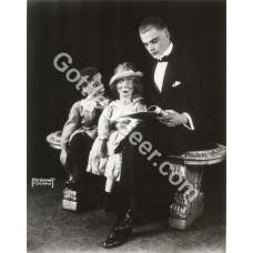 Photo - Edgar Bergen, Charlie McCarthy and Laura (3)