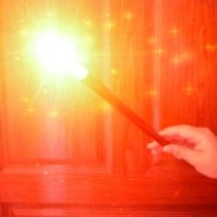 Electronic Flash Wand - RED