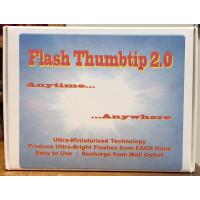 Flash Thumbtip 2.0 - WHITE Light - two piece set