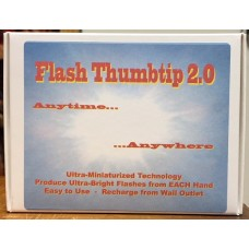 Flash Thumbtip 2.0 - RED Light - two piece set
