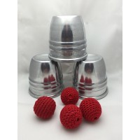 Cups & Balls - FOUR Cup Set