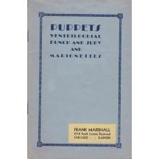 Frank Marshall 1931 Catalog of Ventriloquial Figures