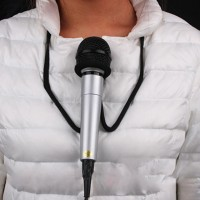 Hands Free Microphone Holder