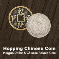 Hopping Chinese Coin Set -- Morgan Dollar & Chinese Coin