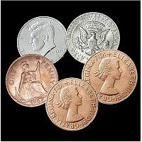 Hopping Half Coin Set