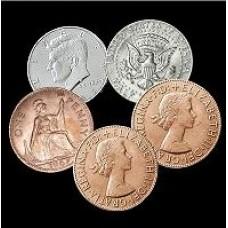 Hopping Half Coin Set