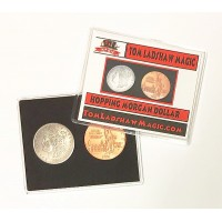 Hopping Half Coin Set - MORGAN DOLLAR - Statue of Liberty Copper