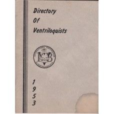 International Brotherhood of Ventriloquists 1953 Directory