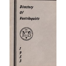 IBV Directory of Ventriloquists - 1953