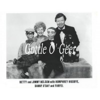 Photo - Jimmy and Betty Nelson with Danny O'Day, Humphrey Higsbye and Farfel (#8)