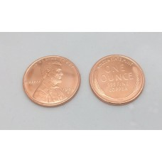 Jumbo Copper Wheat Penny (Dollar size)
